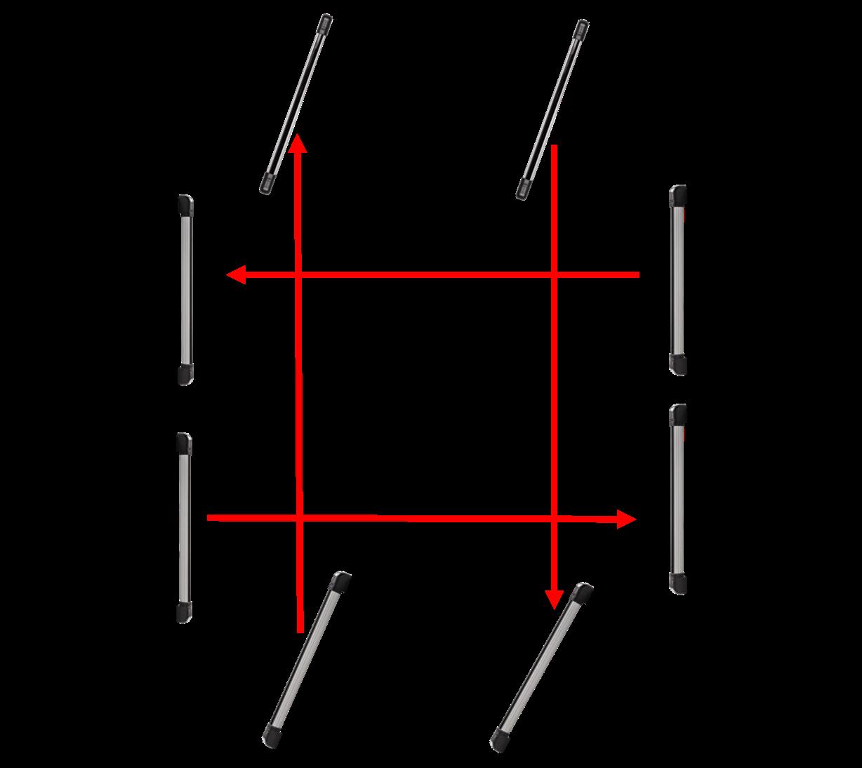 Alinhamento sensores IVA 7100