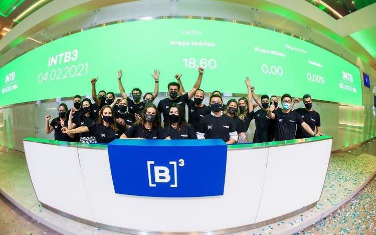 Cerimônia de lançamento da Intelbras na B3 aconteceu na manhã desta quinta-feira. Foto: Cauê Diniz