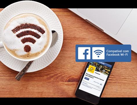Wi-Fi com melhor experiência hotspot 300