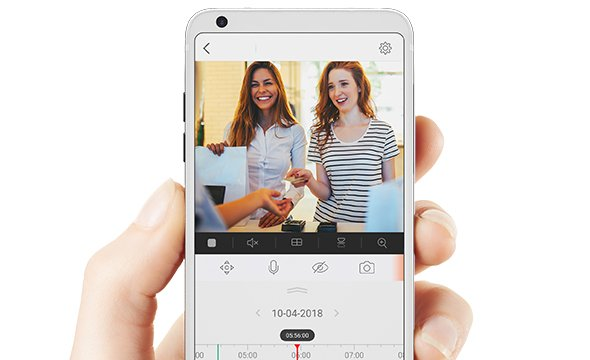 Todas as imagens no seu celular com a iC7