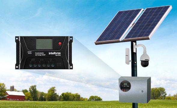 Painel Solar Intelbras e ECP 2024