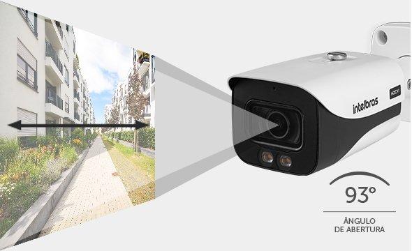 visão câmera Bullet analógica Full Color VHD 5240 B Full Color