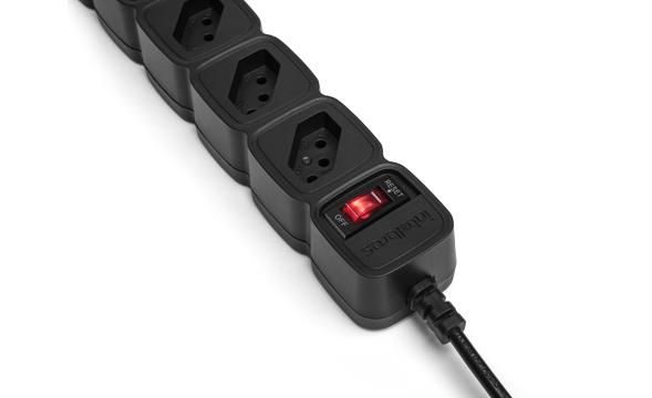 protetor eletrônico com 5 tomadas EPE 205