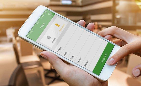 Possibilidade de acesso remoto via aplicativo