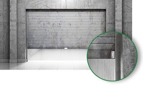 XAS PORTA DE AÇO MINI instalação em portas e janelas de diferentes materiais
