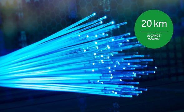 alta velocidade conversor de mídia Gigabit Ethernet KGSD 1120 A