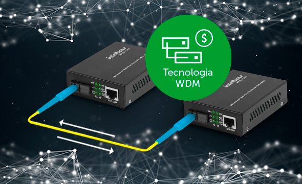 conversor de mídia Fast Ethernet monomodo 20 km KFSD 1120 B