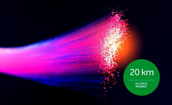 alta velocidade de banda do conversor de mídia Fast Ethernet monomodo 20 km KFSD 1120 B