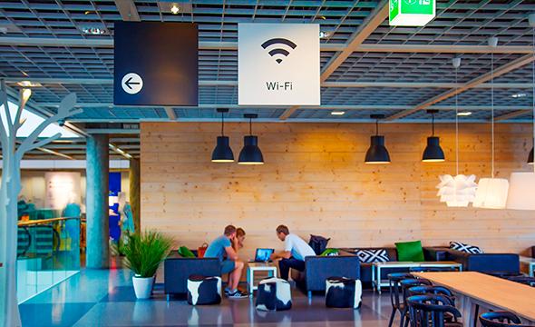 Wi-Fi profissional com mais capacidade e alcance