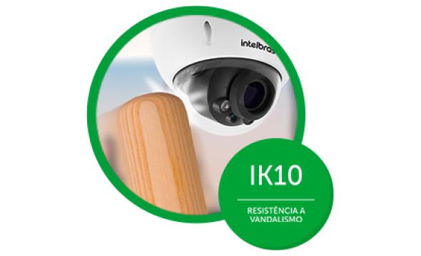 resistência a toda prova com IK10