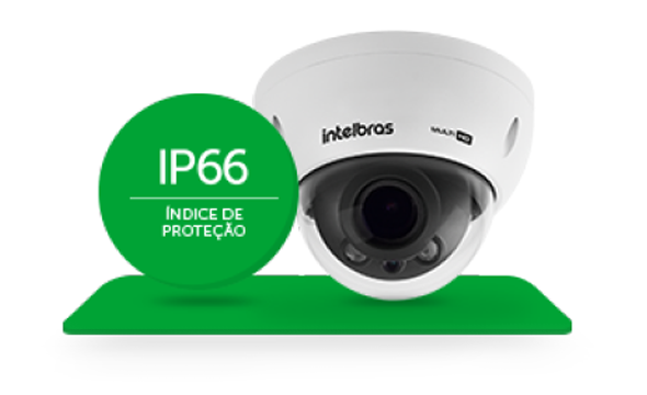 câmera com mais proteção e durabilidade
