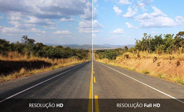 Qualidade de imagem Full HD