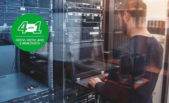 Tecnologia Multi HD ® com o Balun Passivo Intelbras VB 501 P com Transmissão de Vídeo Ultra HD 4K para até 300 metros