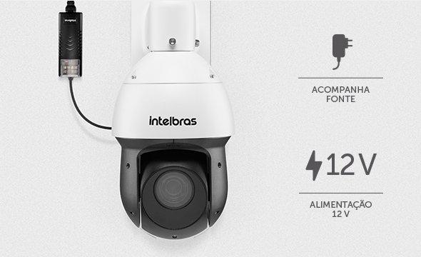 Facilitando sua instalação com a Câmera Intelbras Speed Dome Starlight Full HD VHD 5225 SD IR 1080p HDCVI Zoom 25x
