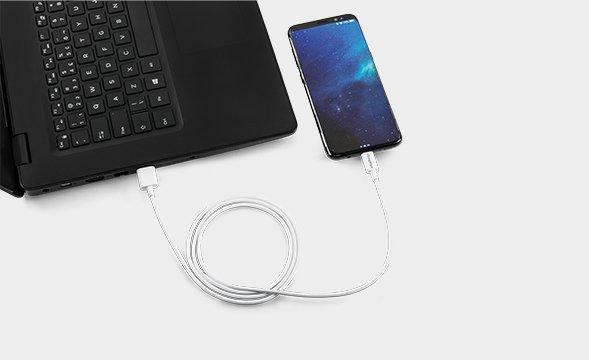 cabo universal USB para USB-C