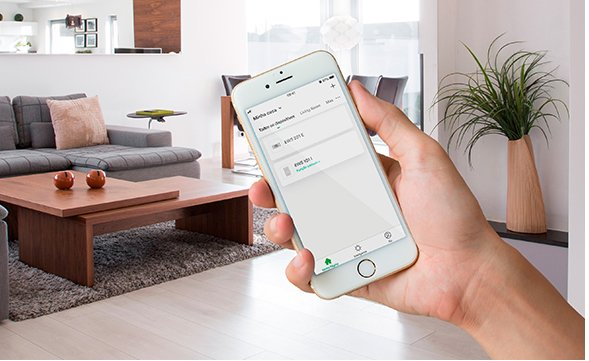 Controle mais de um ambiente com interruptor smart Wi-Fi