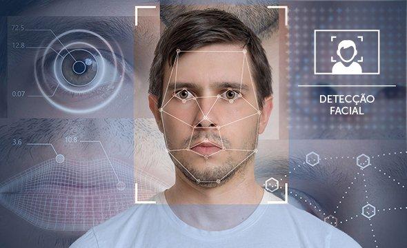 Detecção facial com metadados