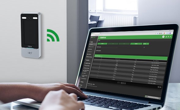 Operação via Wi-Fi com Controlador de Acesso com Reconhecimento Facial Intelbras SS 5530 MF FACE