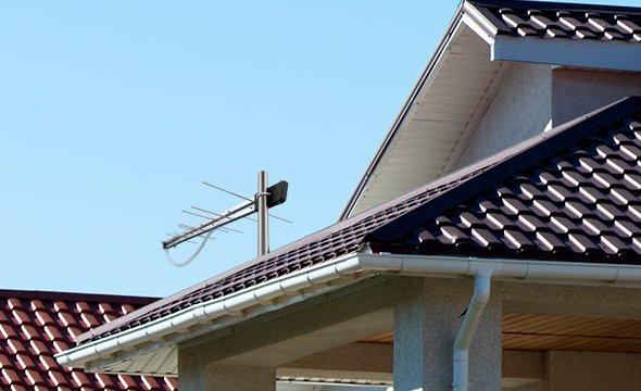 Alta compatibilidade e sinal de qualidade com a antena externa AE 1028