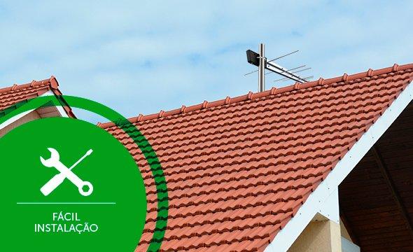 Antena externa de fácil instalação AE 1028