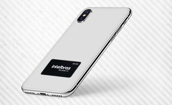 Tag de acesso para sistemas de controle de acesso para fixar no celular com Etiqueta de Acionamento RFID Intelbras TH 3030 MF
