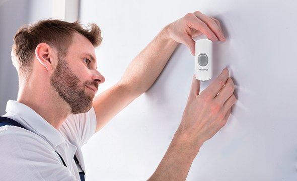 Fácil instalação plug and play módulo externo para campainha CIB 100 ME