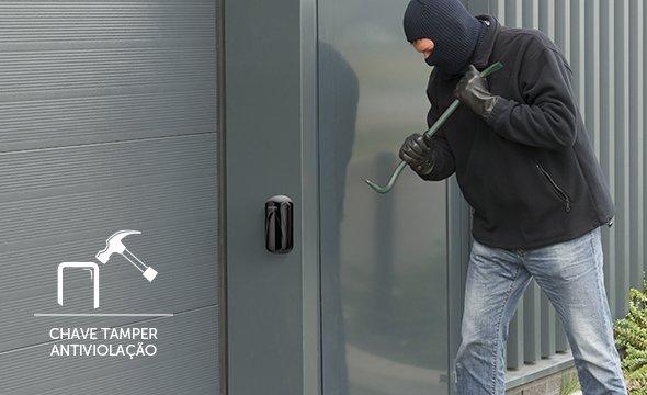 Proteção máxima contra vandalismo