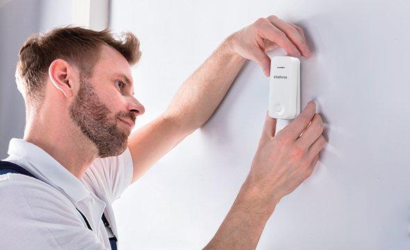 Instalação Plug & Play do módulo externo para campainha CIK 200 ME