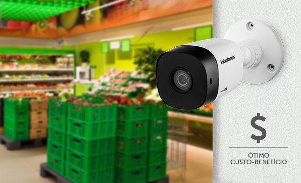 Câmera Intelbras em Supermercado VHD-1010-B-G6