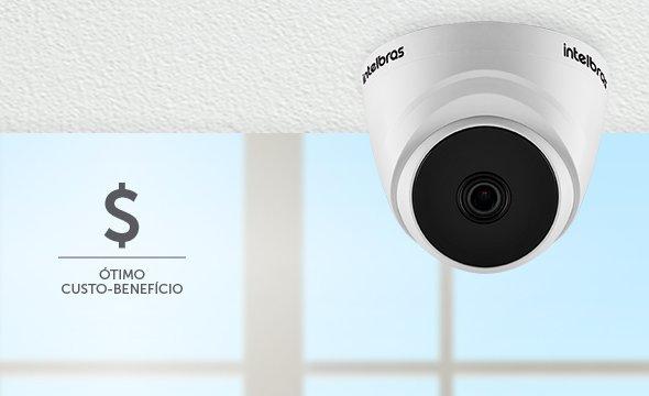 Câmera Intelbras Custo-Benefício