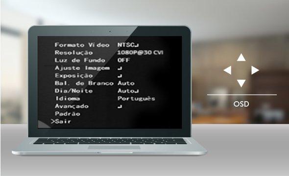Intelbras - computador com prompt de comando.