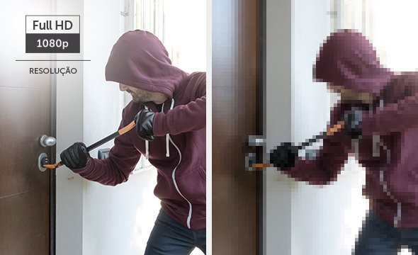 Intelbras - proteçao contra arrombamento de portas.