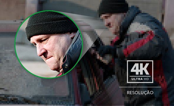Mais detalhes com imagens 4K Ultra HD