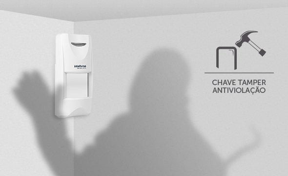 sensor-de-movimento-infravermelho-ivp-3000-mw-ex-com-chave-tamper-antiviolacao