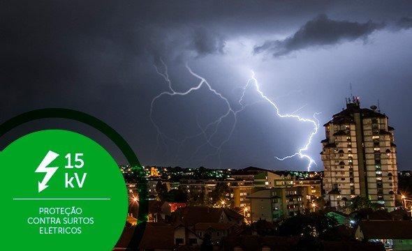 Maior proteção contra surtos elétricos