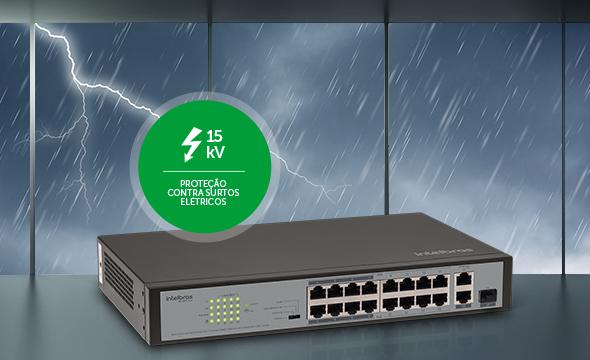 sistema-seguro-e-protegido-com-switch-de-16-portas-fast-ethernet-poe-plus-sf-1821-poe
