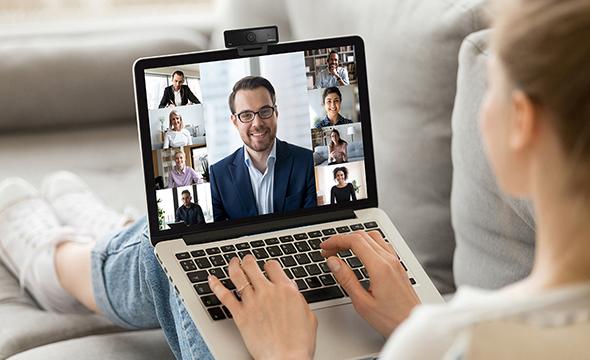 Compatível com a sua plataforma de videoconferência