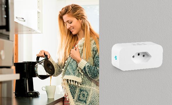 Torne sua casa inteligente de forma prática conector smart Wi-Fi universal EWS 301